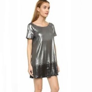 Free People Ombré Drenched in Sequins Dress